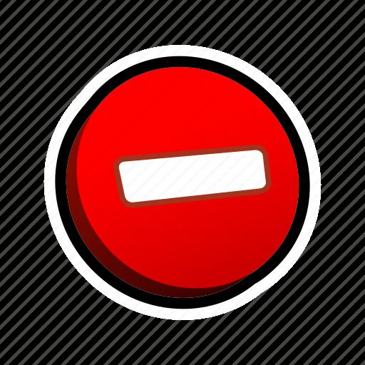 buttons, delete, remove icon