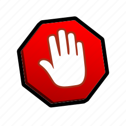 buttons, stop icon