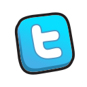buttons, twitter icon