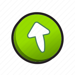 arrow, buttons, up, upload icon