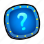 lights, misc, question mark, quiz icon