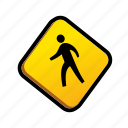 public, signs, traffic sign icon