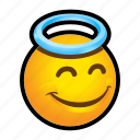 emoticon, good, smile icon
