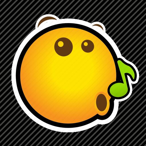 emoticon, pretending icon