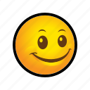 emoticon, happy, smile