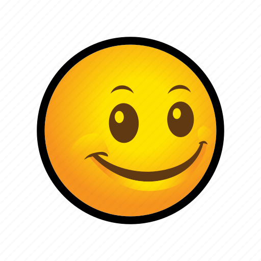 emoticon, happy, smile icon