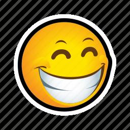 emoticon, smile, troll icon