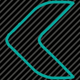 arrow, arrows, direction, left, previous, undo icon