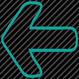 align, arrow, arrows, direction, left, pointer icon