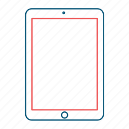 computer, device, gadget, ipad, screen, tablet icon
