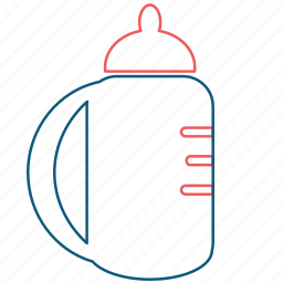 baby, bottle, drink, flask, newborn, sippy cup, tea icon