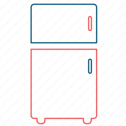 cold, freeze, freezer, fridge, ice, refrigerator icon