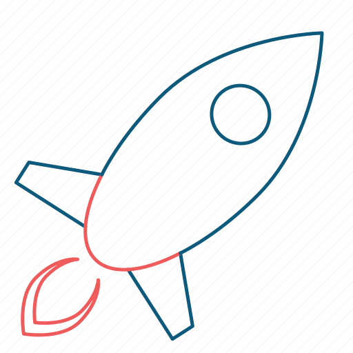 business, internet, launch, marketing, rocket, space, web icon