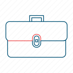 briefcase, business, case, luggage, suitcase icon