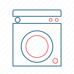 clothes, clothing, laundry, loundry, washer, washing, washing machine icon