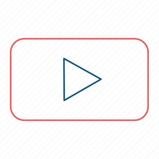 Media, player, youtube, music, play, video icon - Download on Iconfinder