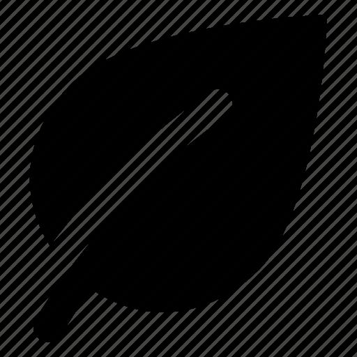 angle, leaf icon