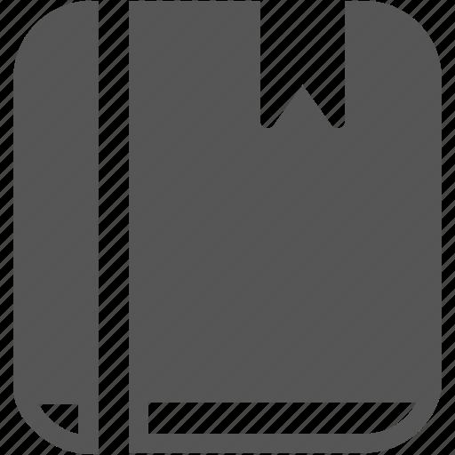 book, docket, learning, ledger, log, pocket, read icon