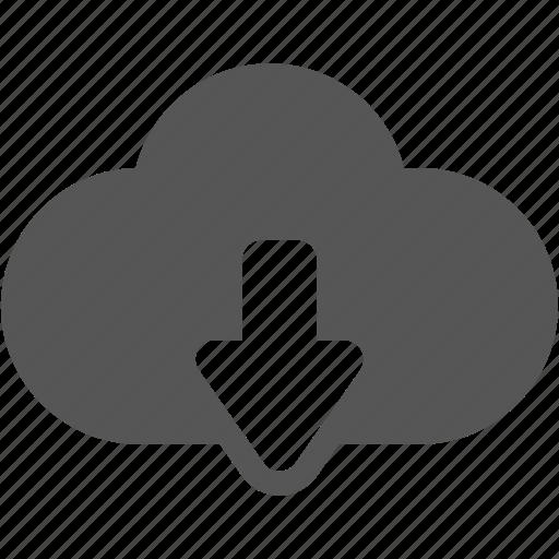 browser, cloud, internet, storage, up, upload icon