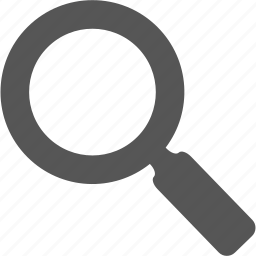 glass, magnifyingglass, review, search, the search, view, zoom icon