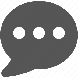 comment, conversation, message, mobile, smartphone, speech icon
