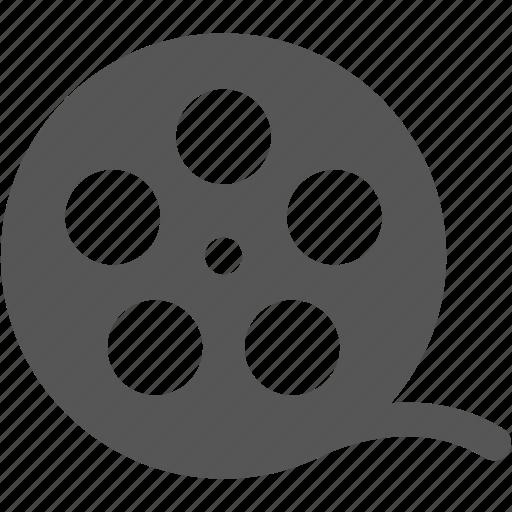 film, films, filmstrip, movies, paper, reels, roll of film icon