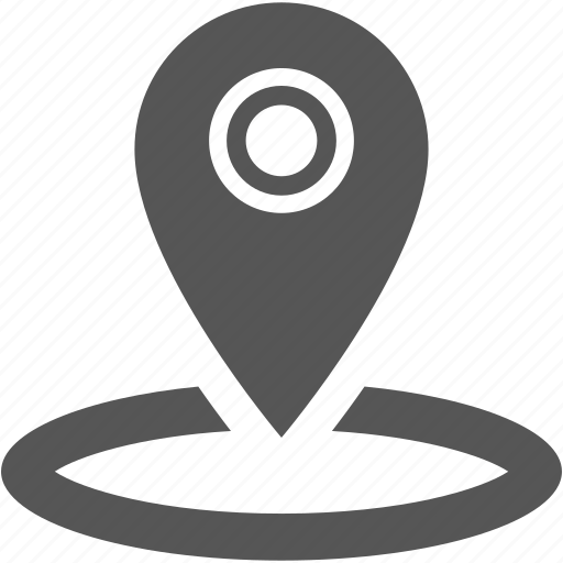 locator, orientation, pin, place, point, position icon