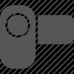 camera, media, play, the camera, video icon