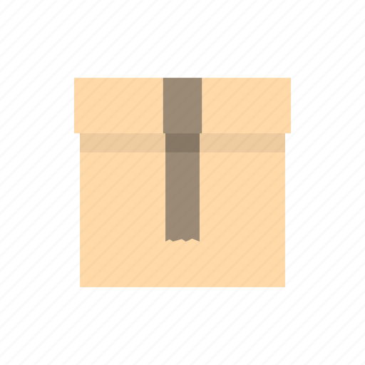 box, cardboard, carton, close, deliver, gift, shipping icon
