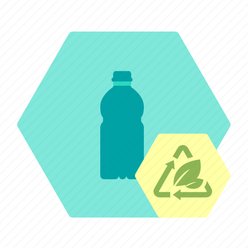 bioplast, bottle, drink, packaging, sustainable icon