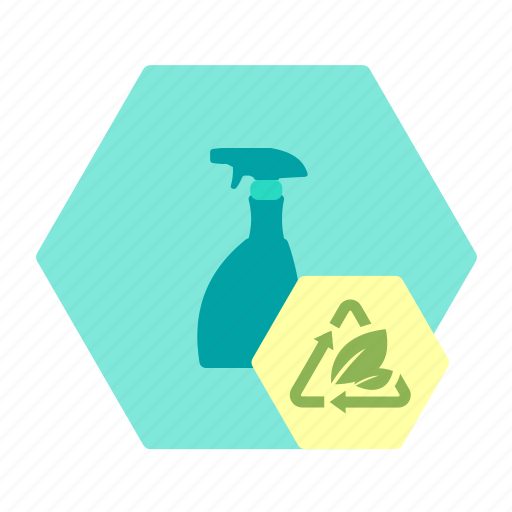bioplast, clean, glass, packaging, spray, sustainable icon