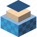 isometric, shipping, shipipng, packing, protection, iso icon