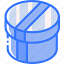 box, hat, iso, isometric, packing, shipping icon