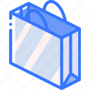 bag, iso, isometric, packing, shipping icon