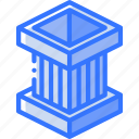 box, iso, isometric, packing, protection, shipping icon