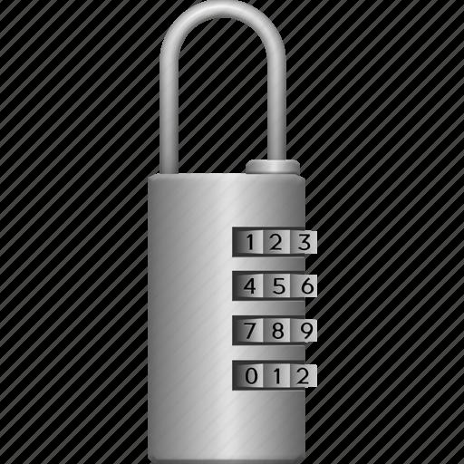 iron, lock, locked, password, secure, security icon