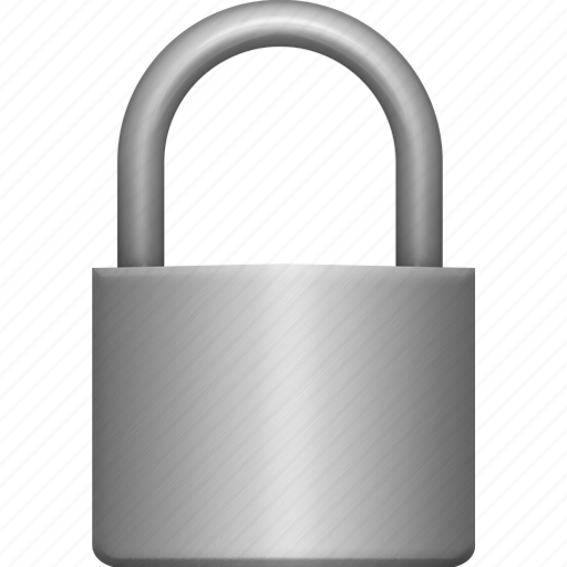 iron, lock, locked, padlock, secure, security, small icon