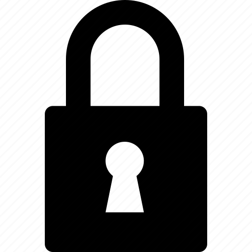close, lock, locked, padlock, secure, security icon