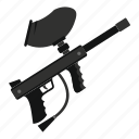 ball, extreme, gun, marker, paintball, sport, weapon icon