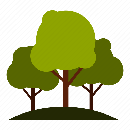 Bush, foliage, forest, garden, natural, nature, tree icon - Download on Iconfinder