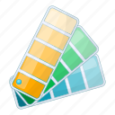color, draw, paint, swatch icon