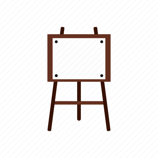 art, blank, canvas, easel, paper, wood, wooden icon