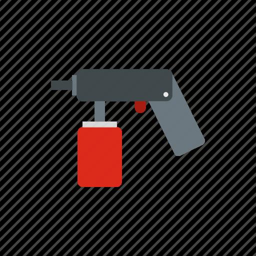 aerosol, bottle, can, container, gun, paint, pulveriser icon
