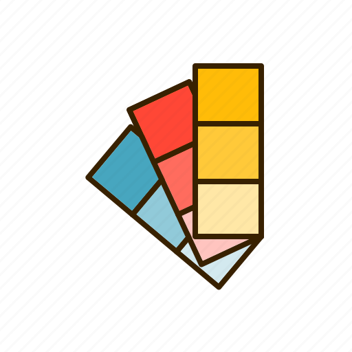color, coloring, palette, picker, swatches icon
