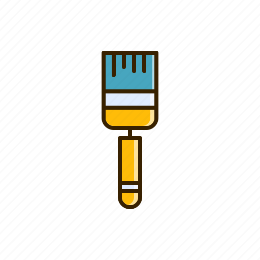 brush, color, paint icon
