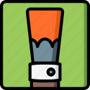 brush, drawing, illustration, painting, tool icon
