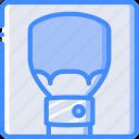 brush, drawing, fat, illustration, painting, tool icon