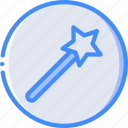 drawing, illustration, painting, tool, wand icon
