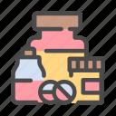 pharmacy, bottle, pill, tablet, medicine, medical
