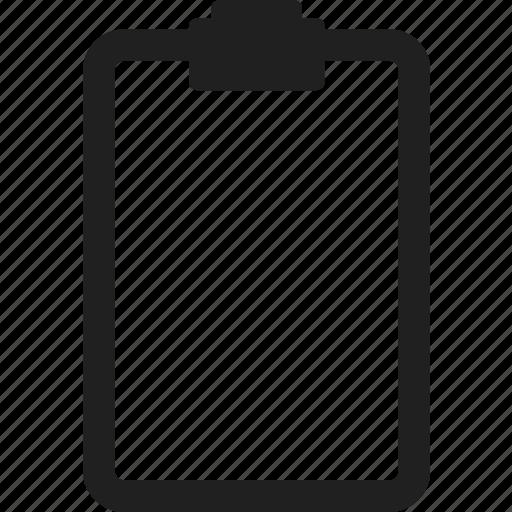 business, design, document, paper, web icon